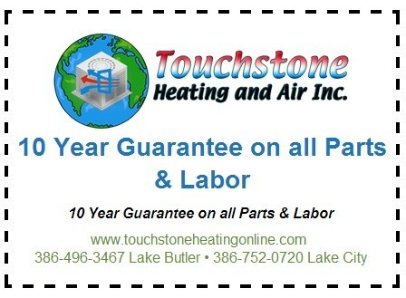 Ten Year HVAC Guarantee