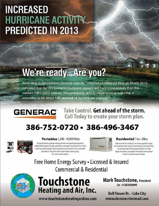 Touchstone Hurricane Season Generators