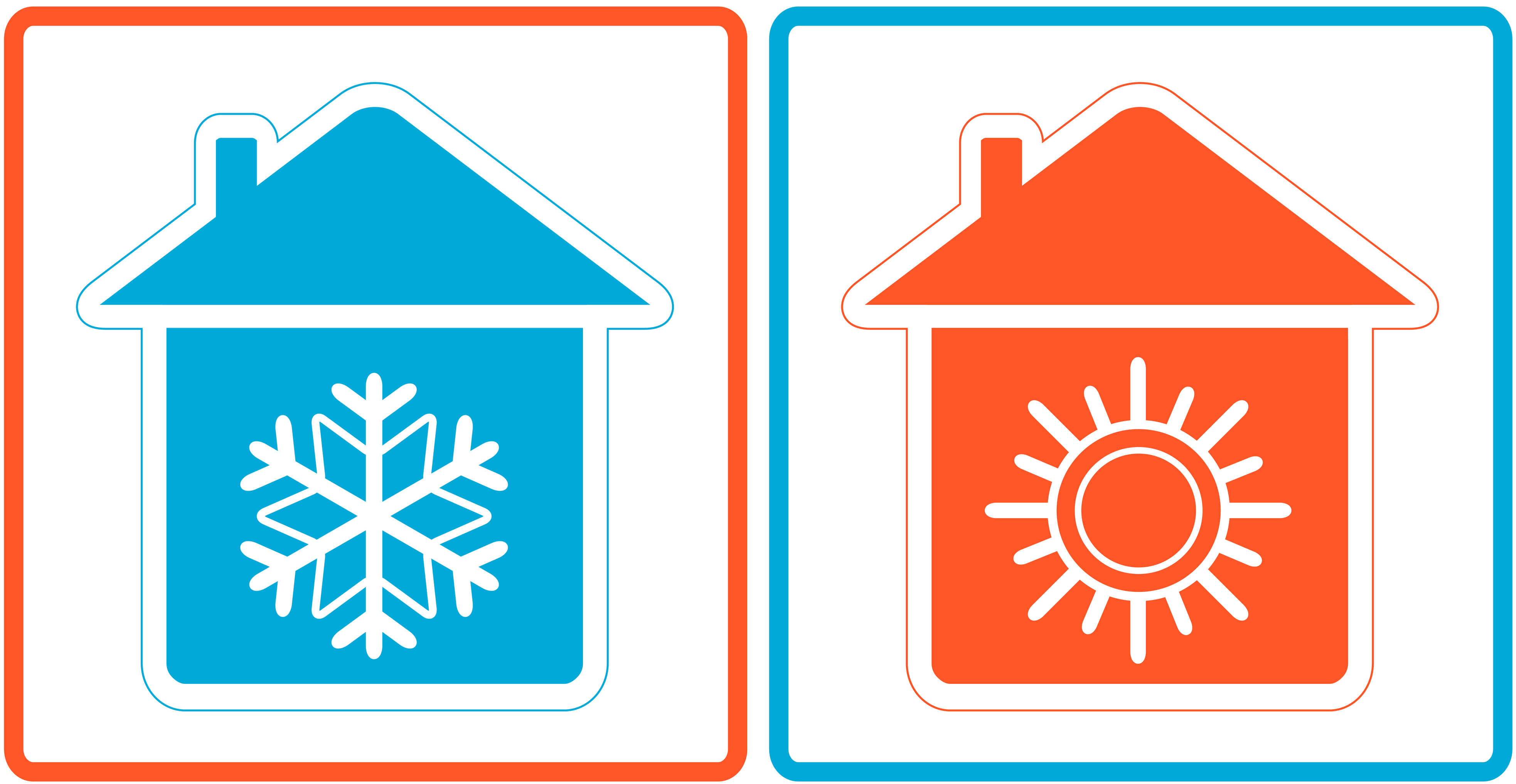 cold-and-hot-house-symbols